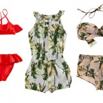Bikini e copri-costume H&M for Water 2012