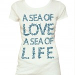 T-Shirt donna A Sea of Love a Sea of Life WWF e Coin