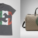 Gucci GG Flag Collection 2012 per Unicef - T-shirt e sacca con tracolla removibile