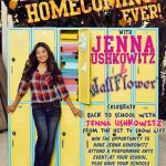 Jenna Ushkowitz nella campagna per la vintage collection di Wall Flower Jeans