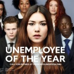 Uno degli adv della campagna Benetton Unemployee of the Year