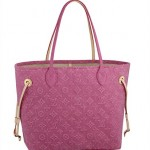Neverfull Louis Vuitton rosa Stonewashed Monogram