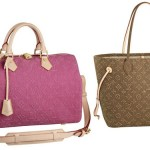 Nuove borse Monogram Louis Vuitton Speedy e Neverfull 2012