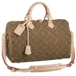 Speedy Monogram Louis Vuitton color caramello stonewashed