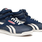 Il modello Athletic Navy delle Reebook Freestyle Italian Special Make-up