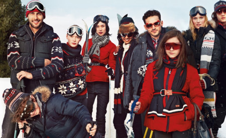 Snow Chic: la capsule collection di Tommy Hilfiger