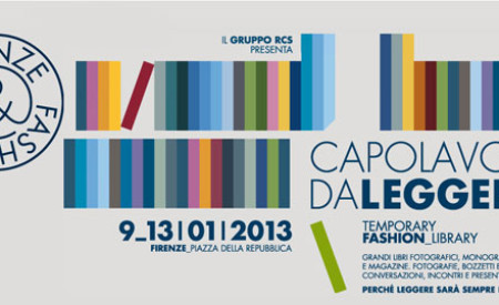 Dal 9 al 13 gennaio Temporary Fashion Library a Firenze