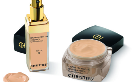Siero e crema fondotinta Nude Look di Christies Cosmetics New York