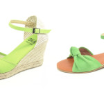 Scarpe estive Ska Flamenquitas color verde