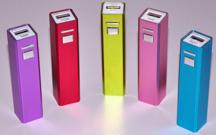 Power Bank by Giemme: la batteria d'emergenza da borsetta