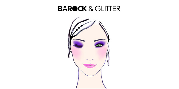 Look Capodanno Sephora 2014 Barock and Glitter