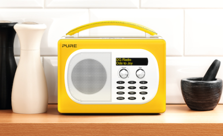 Evoke Mio Deutsche Grammophon Edition, la radio retrò ma digitale e colorata