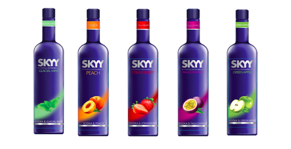 Green Apple SKYY Vodka Liqueurs