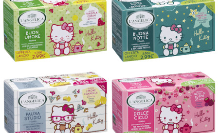 Le tisane Hello Kitty dell'Istituto Erboristico l'Angelica