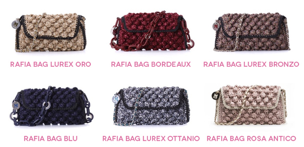 Rafia Bag Missoni Autunno 2014