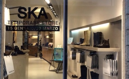 Ska Shoes: a Milano un Temporary Store in Corso Garibaldi