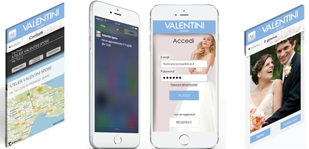 La Wedding App Valentini Spose