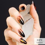 Lava Flow Nail Art - Hawaii OPI Collection