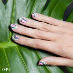 Nail Art con smalti Hwaii OPI Collection 2015