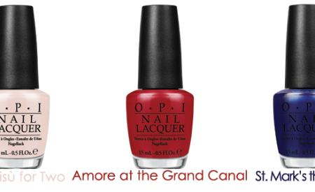 OPI Venice Collection: 12 smalti per l'autunno-inverno 2015