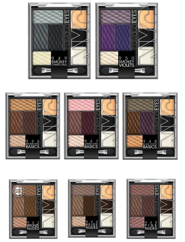 Palette Individual Eyes NYC con Demi Lovato