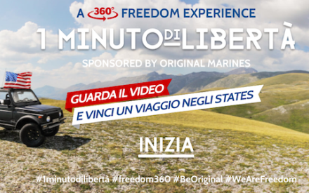 We are, we wear freedom: con Original Marines si vince un viaggio negli States