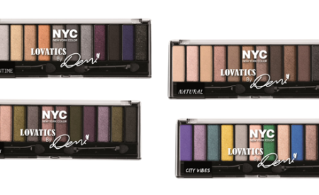 New York Color: Lovatics, 4 palette occhi firmate da Demi Lovato