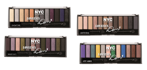 Palette occhi NYC Lovatics by Demi Lovato
