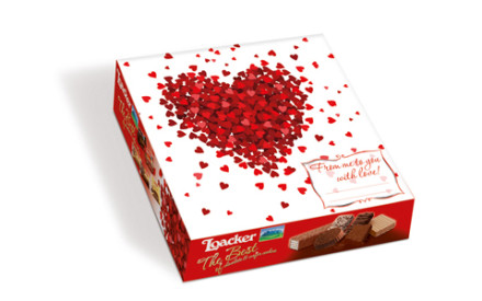 "San Valentino 2016: il cofanetto ""The Best Of"" Loacker personalizzabile"