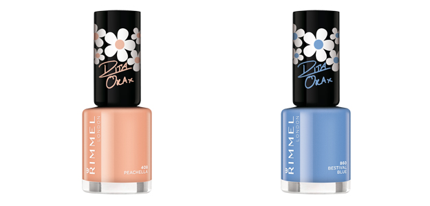 Shade Peachella e Bestival Blue Colourfest Collection by Rita Ora