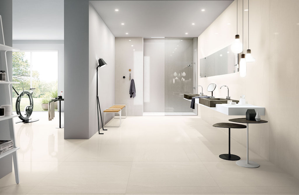 Ambiente bagno Aqua Maximum by Fiandre