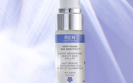 Contorno occhi: REN presenta Instant Brightening Beauty Shot Eye Lift