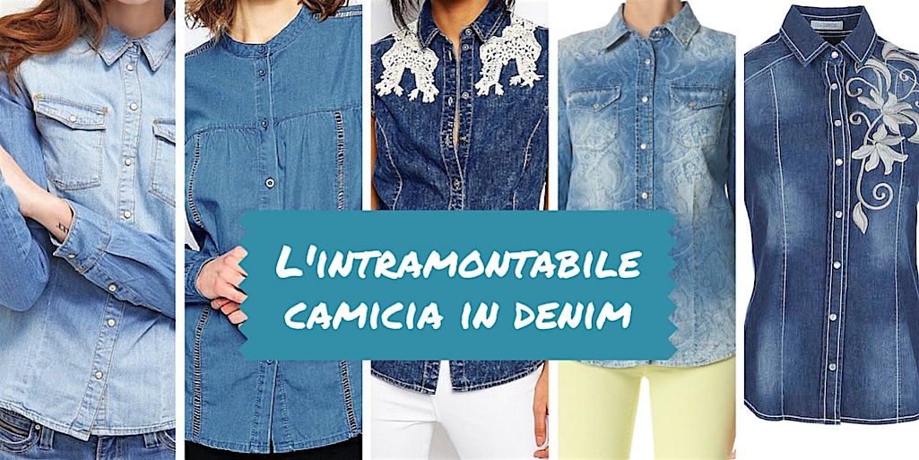L'intramontabile camicia in denim