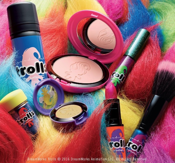 MAC Cosmetics-Good Luck Trolls 2016