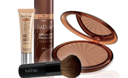 IsaDora: la collezione Bronzing Face & Body per l'estate 2016