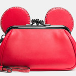 MIckey Kisslock Wristlet - Disney x Coach