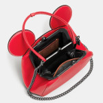 Mickey Kisslock Bag Disney x Coach - Rossa