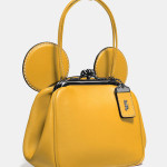 Mickey Kisslock Bag Disney x Coach - Senape
