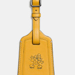 Mickey Luggage Tag