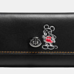 Mickey Turnlock Wallet - Disney x Coach