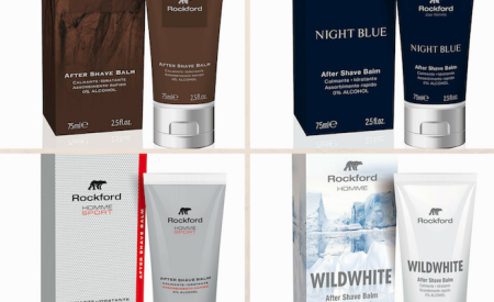 Rockford Homme: 4 nuovi After Shave Balm che conquistano i sensi