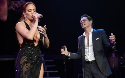"Jennifer Lopez torna con Marc Anthony (sul palco) e arriva in Italia con ""Shades of Blue"""