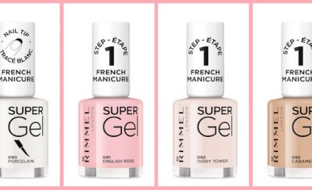 Super Gel French Manicure di Rimmel in tre semplici step
