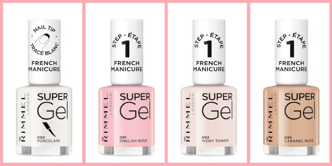 Super Gel French Manicure di Rimmel