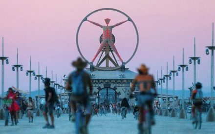 Burning Man Festival: un deserto in fiamme