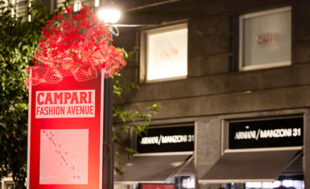 Campari Fashion Avenue 2016 in via Montenapoleone il 26 settembre