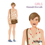 Hannah Horvath protagonista di Girls