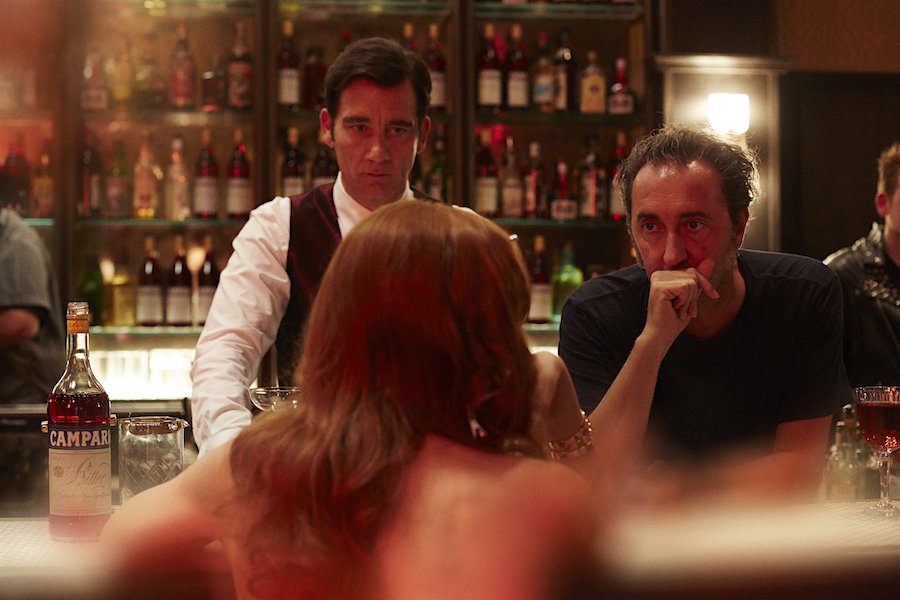 Clive Owen e Paolo Sorrentino per Campari Red Diaries