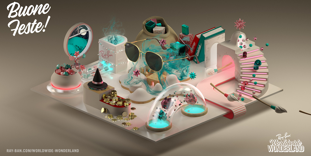 Ray-Ban Worldwide Wonderland - La cartolina italiana