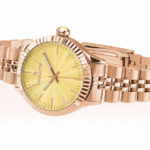 Orologio Hoops Luxury Gold con quadrante giallo